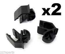 2x Ford Bonnet Stay Strut Rod Clips- Classic Ford models, Escort, Sierra, Capri