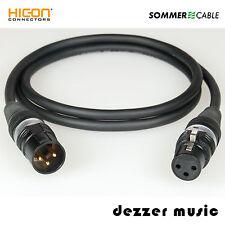 0,3m XLR digital-cable binary HICON oro/AES/EBU 110 Ohm verano cable/High End