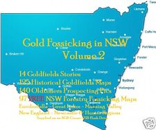 CD-  Gold - NSW Forest Fossicking Vol.2 - 97+ eBooks & Maps (Resell Rights)