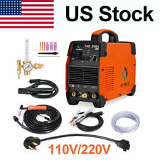 Hitbox Tig200A Tig Welder 110V/200V Inverter Stick Mma Arc Tig Welding Machine