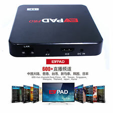 EVPAD PRO UK Authorised Dealer Powered Internet TV Box Chinese 電視盒子全球適用高清機頂盒成人電視