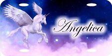 Personalized Custom Pegasus Unicorn Magic Mythical Stars License Plate Beautiful