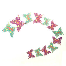 CLEARANCE 10 Pieces 3D Butterfly Wall Decals.  Different Styles