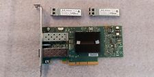 Mellanox MNPH29D-XTR ConnectX Dual Port 10Gigabit Network PCI-E Card w/ 2x SFP