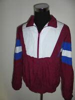 vintage 80s VERVE Nylon Jacke oldschool Sportjacke sports jacket 80er Jahre M
