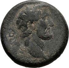 Ancient Rome AD 138-161 MACEDON KOINON ANTONINUS PIUS THUNDERBOLT