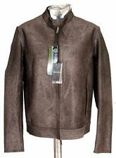 Emporio Armani Cow Hair Leather Jacket EU52 Large / XL  RRP £2400 coat Ponyskin