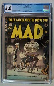 Mad #7 – EC Publications Comic 10-11/53 – Magazine CGC 5.0 – Alfred E. Neuman