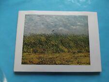 Ancienne Art Print Poster Peintre 1961 Vincent van Gogh Champ de Blé vers 1887