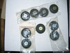 Perfect Wheels Aprrox. 1 1/4 Inch In Diameter - 9 Pieces