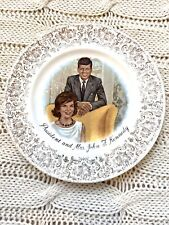 President John F Kennedy and Mrs. Kennedy Collectible Vintage Plate