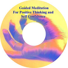 Guided Meditation For Positive Thinking & Self Confidence CD Be Stronger Healing