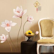 Wandtattoo Blume Wohnzimmer Schlafzimmer Aufkleber bunt Deko Wand Wandsticker