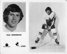Paul Henderson team Canada 1972 8x10 Photo