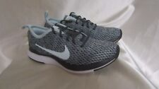 GIRL`S NIKE DUALTONE RACER SE (PS) ATHLETIC SNEAKERS SIZE 10.5C #AA3049001 GRY