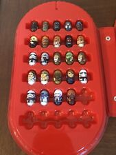 Lot of 24 Star Wars Mighty Beanz With Case!