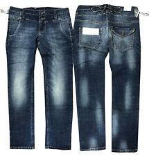 MAC Carrie Pipe Damen Jeans Hose Röhrenjeans Blau Gr. 34 L28 NEU