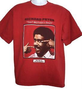 Richard Pryor Vintage Rated X Uncensored Rare Comedy Promo T Shirt XL