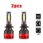 2*H4 Philips LED Hi-Lo Beam 288W 28800LM CAR Headlight Kit White 6000k HB2 9003