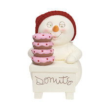 Department 56 Donuts, Please Figure 6001857 Snowbabies Snowpinion Dept New