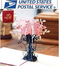 New 3D Pop Up Birthday Rose Plant Anniversary Love Valentine Greeting Card