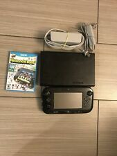 Nintendo Wii U 32GB Black Console Deluxe Set with Nintendo Land Game Tested