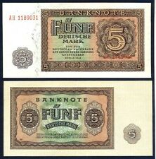 GERMANY DEMOCRATIC REPUBLIC  5 Mark 1948 UNC P 11 b