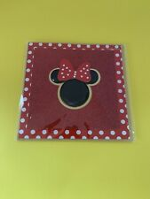 PAPYRUS DISNEY MINNIE MOUSE W/ GEMMED GLITTER ANY OCCASION CARD retail $7.95