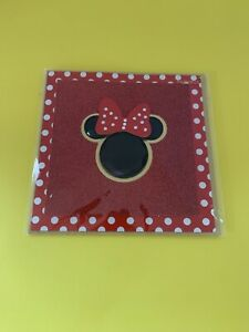PAPYRUS DISNEY MINNIE MOUSE W/ GEMMED GLITTER ANY OCCASION CARD