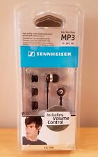 Sennheiser CX 500 Ear Bud Headphones - BRAND NEW - QUICK DISPATCH - Black