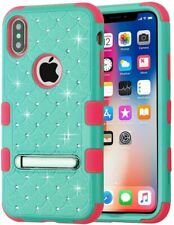 IPhone X/XS Case, Mybat Tuff Dual Layer [Shock Absorbing] Protection Hybrid Stan