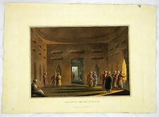 SYRIEN ALLTAGSSZENE ASIEN KOLORIERTE ANSICHT AQUATINTA BOWYER 1810 #D951S