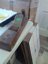 Carpenter's Woodworking Wood Block Hand Plane w Blade