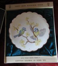 Royal Worcester Dorothy Doughty Birds Ltd Edition Plate  Bluetits & Witch hazel