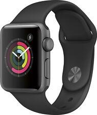 Open-Box Excellent: Apple - Apple Watch Series 2 42mm Space Gray Aluminum Cas...