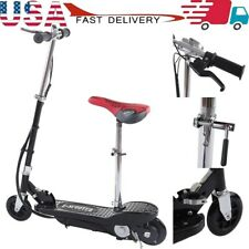 Folding Rechargeable Seated Electric Scooter Motorized Ride On-Outdoor For Teens