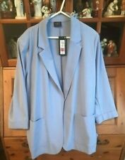 M & S Ladies Pale Blue Jacket / Blazer BNWT Size 22*REDUCED*