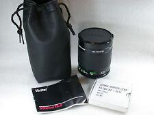 Vivitar MC 500 mm f/8 Mirror Lens T2 mount + M42 T2 mount + 3 filtres