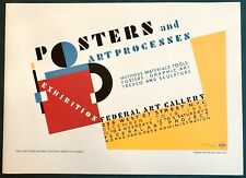 Wheatley Press WPA Limited Edition Posters & Art Processes Serigraph Poster