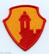 1st Mission Support Command USAR embroidered patch  Puerto Rico unused Antilles