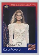 1993 Star Miss USA/Miss Teen USA #42 Kara Rovere Non-Sports Card 0w6