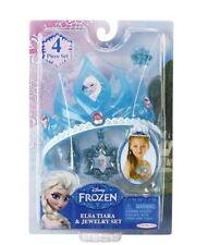 Disney Frozen Princess Elsa Tiara & Jewelry Set