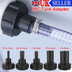 UK IBC Tank Adapter Adaptor Connector Water Tank Outlet Connection Fitting Tool