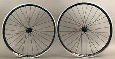 Mach1 Versus Black Road Bike Clincher Wheelset Shimano Tiagra Hubs 9 10 11 Speed