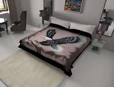 Solaron Blanket throw Thick Ultra Fine Polyester Mink Plush Eagle HeavyWeight
