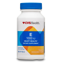 CVS Health Vitamin E Softgels 1000IU , 50CT