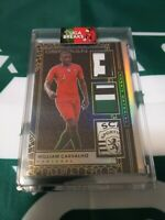 2019-20 PANINI SOCCER OBSIDIAN WILLIAM CARVALHO MATCH-WORN TRIPLE PATCH 9/10
