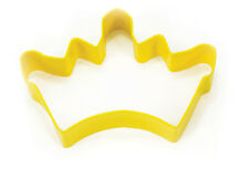 Eddingtons Yellow Crown Cutter 10cm -  Pastry & Biscuit Cutter