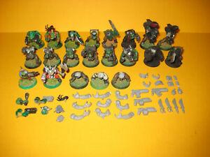 Warhammer 40k - Space Orks - Orkboyz - Stormboyz - Bits - Bitz
