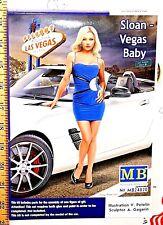 Master Box Dangerous Curves Series:Sloan - Vegas Baby Detailed plastic Model Nib